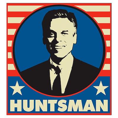 Retro Huntsman Wall Art Poster