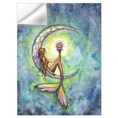Mermaid Moon Wall Art Wall Decal