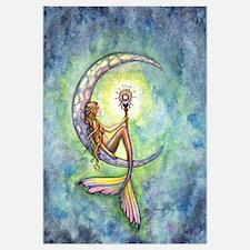 Mermaid Moon Wall Art