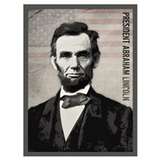 Abraham Lincoln Wall Art Framed Print