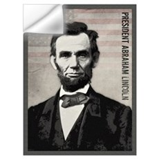 Abraham Lincoln Wall Art Wall Decal