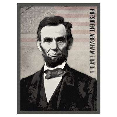 Abraham Lincoln Wall Art Poster