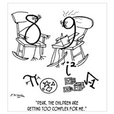 Children Are Too Complex Wall Art Poster