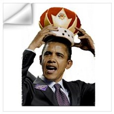 King Barack Obama Wall Art Wall Decal