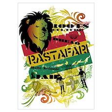 RASTAFARI Wall Art Poster