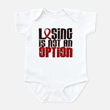 Losing Is Not An Option AIDS Infant Bodysuit