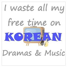 I waste all my time on Korean Wall Art Canvas Art