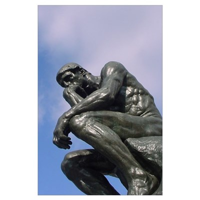 The Thinker - Wall Art Poster