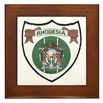 Rhodesia Official Seal Framed Tile