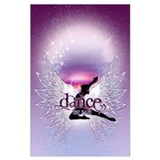 Crystal Dancer Wall Art Poster