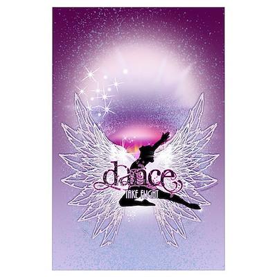 Crystal Dancer Wall Art Poster