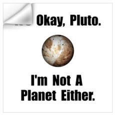 Pluto Planet Wall Art Wall Decal
