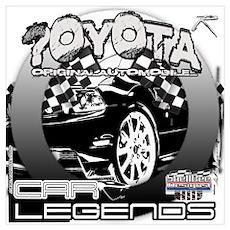 Toyota Wall Art Poster