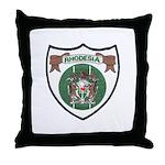 Rhodesia Official Seal Throw Pillow