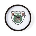 Rhodesia Official Seal Wall Clock