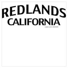 Redlands Wall Art Poster