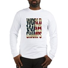 World War Champs - US Flag Long Sleeve T-Shirt