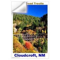 Wall Art Cloudcroft Trestle Wall Decal