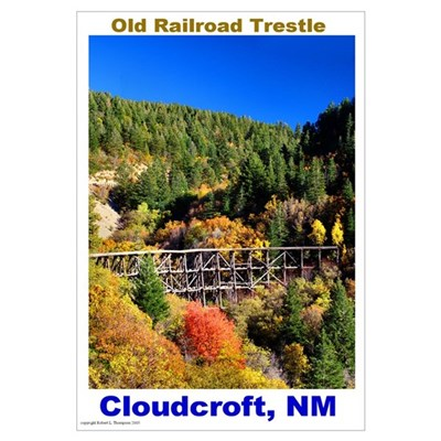 Wall Art Cloudcroft Trestle Framed Print