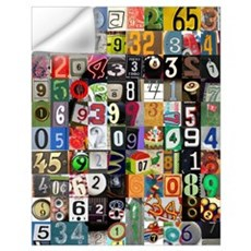 Pi Places Wall Art Wall Decal