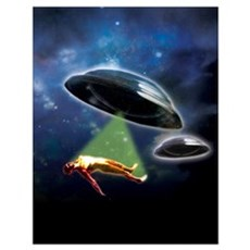 Abduction Wall Art Poster