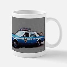 New York City Police Car Mug