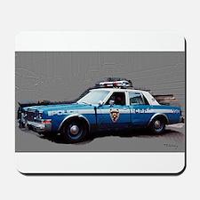 New York City Police Car Mousepad