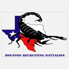 DUI-HOUSTON RECRUITING BN WITH TEXT Wall Art