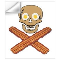 Food Pirate Bacon Eggs Wall Art Wall Decal