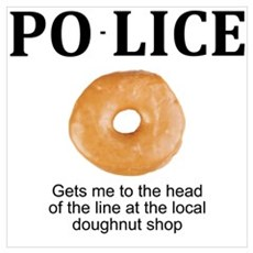 My Police thingy Wall Art Poster