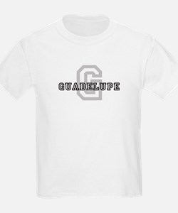Letter G: Guadelupe Kids T-Shirt
