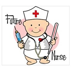 Future Nurse Wall Art Canvas Art