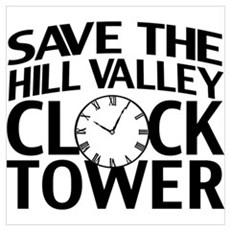 Save The Clock Tower Wall Art Poster