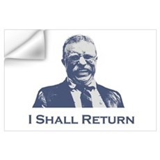 Roosevelt / Return Wall Art Wall Decal