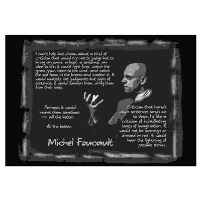 Foucault's Critique Wall Art Canvas Art