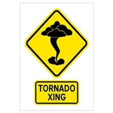 Tornado Crossing Wall Art