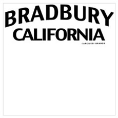 Bradbury Wall Art Poster