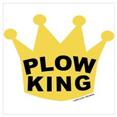 Plow King Wall Art Canvas Art