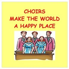 choirs Wall Art Poster