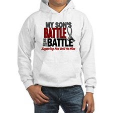 My Battle Too Brain Cancer Jumper Hoody