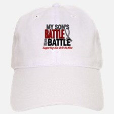 My Battle Too Brain Cancer Hat
