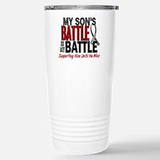 My Battle Too Brain Cancer Travel Mug