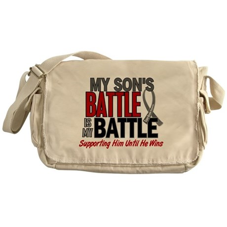 My Battle Too Brain Cancer Messenger Bag