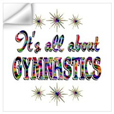 About Gymnastics Wall Art Wall Decal