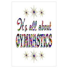 About Gymnastics Wall Art
