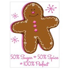 Sugar & Spice Gingerbread Wall Art Poster