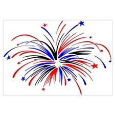 Fireworks Wall Art