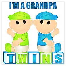 I'm A Grandpa (BBB:blk) Wall Art Poster