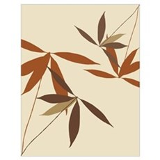 Trendy Floral Decor Wall Art Poster