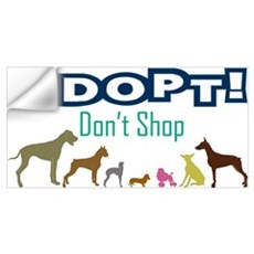Adopt Don't Shop Wall Art Wall Decal